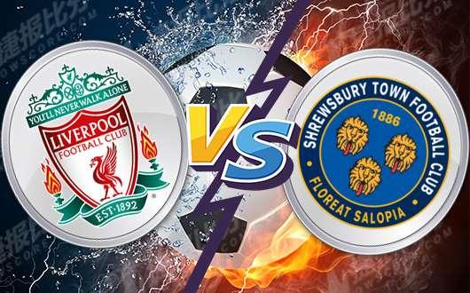 利物浦vs什鲁斯伯利 红军二队出战