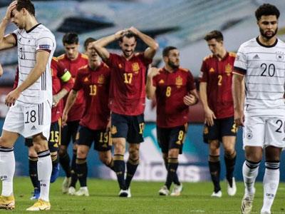 莫拉塔破门,托雷斯帽子戏法,西班牙6-0狂胜德国