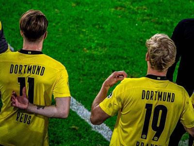 《踢球者》发文,多特蒙德国脚罗伊斯以及布兰特应为欧洲杯前景感到担忧