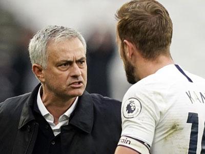 对阵丹麦首发出场,热刺主帅穆里尼奥对凯恩身体表示担忧